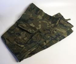 Pantalón uniforme de instrucción y campaña mimetizado (camal roto) años 90
