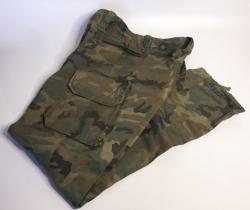 Pantalón uniforme de instrucción y campaña mimetizado 1992