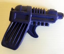 Pistola de agua años 70, azul