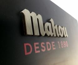 Pizarra Mahou desde 1890 80x50cm