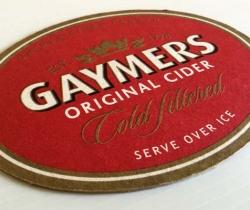 Posavasos sidra Gaymers Original Cider