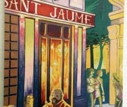 Postal Café Sant Jaume – Valencia – años 90