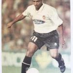 Póster Romario – Valencia CF – Las Provincias – Liga 97/98