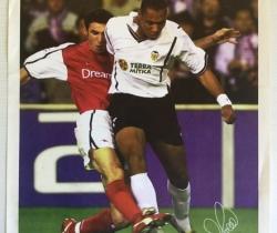 Póster Valencia CF – Arsenal regalo del periódico Las Provincias