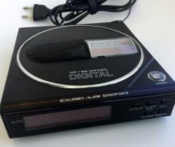 Radio reloj despertador digital años 90