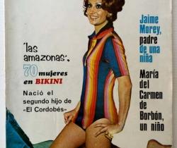 """Revista Diez Minutos nº 1110 – 02/12/1972 – Las Amazonas – Segundo hijo de """"El Cordobés"""" – Cira"""