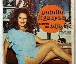 Revista Diez Minutos nº 1113 – 23/12/1972 – Natalia Figueroa y Raphael esperan un hijo