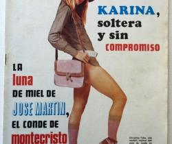 Revista Diez Minutos nº 1116 – 13/01/1973 – Karina – Esthel Rojo