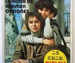 Revista Diez Minutos nº 1122 – 24/02/1973 – Boda de Carmen Ordoñez – Mary Paz Pondal se casa