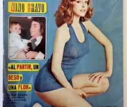 """Revista Diez Minutos nº 1131 – 28/04/1973 – Nino Bravo, """"Al partir, un beso y una flor"""""""