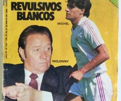 Revista Don Balón Número 501 – Del 21 al 27 de Mayo de 1985 – Póster central del Cádiz