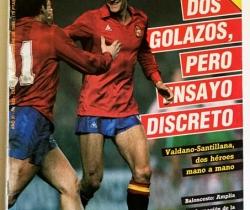 Revista Don Balón Número  532 – Del 24 al 30 de Diciembre de 1985