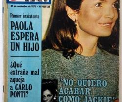 Revista Garbo – nº 925– 25 de Noviembre de 1970 – Onassis – Los Galiardo