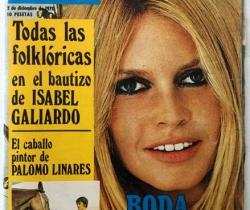 Revista Garbo año XVIII – nº 926 – 2 de Diciembre de 1970 – Bautizo Isabel Galiardo