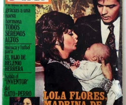 Revista Garbo – nº 935 – 3 de Febrero de 1971 – Lola Flores Madrina