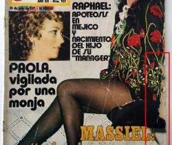 Revista Garbo – nº 952 – 28 de Julio de 1971 – Massiel – Raphael