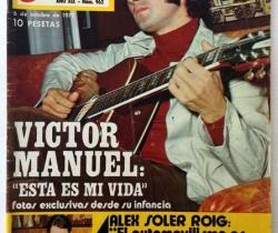 Revista Garbo – nº 962 – 6 de Octubre de 1971 – Víctor Manuel