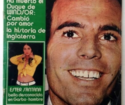 Revista Garbo – nº 997 – 7 de Junio de 1972 – Sylvie Vartan – Julio Iglesias – Franco – Máximo Valverde – Reina guardameta del Barça