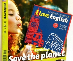 Revista I Love English de Bayard + Audio CD