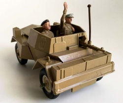 Scout Car Daimler MKII Made in England – Britains LTD – Años 70