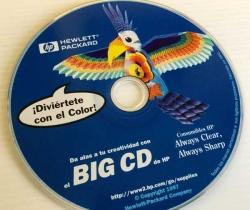 Software Big CD de Hewlett Packard 1997