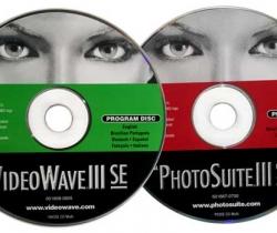 Software PhotoSuite III SE y VideoWave III SE