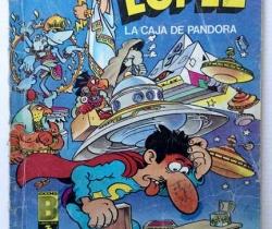 Super López – La caja de Pandora – Colección Olé – Ediciones B 1987