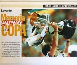 Suplemento Levante el Mercantil Valenciano, Final de la Copa del Rey de Sevilla'99