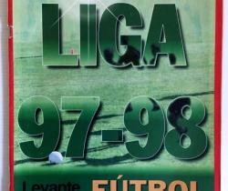 Suplemento del Levante – Liga 97-98 Fútbol de Oro