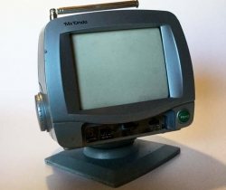 "Televisor 6"" con Radio Mx Onda MX-TBN60 (AVERIADO)"