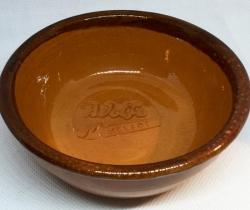 Tarrina de barro Adolfo Helados (marrón clara)