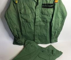 Uniforme de faena sarga La Legión año 1995 talla 2C