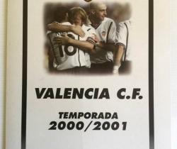 Carpeta Súper Deporte Valencia C.F. con 18 Láminas 2000/2001