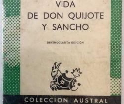 Vida de Don Quijote y Sancho – Decimocuarta Edición – Colección Austral Nº33 – año 1966