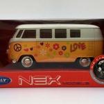 Maqueta Volkswagen T1 Bus 1963 Welly Love Hippie NEX Models Escala 1:34/1:39 Scale Models