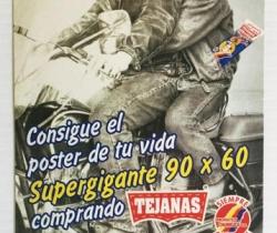 Adhesivo de publicidad pipas tejanas – Churruca – año 1997