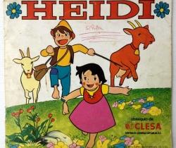 Álbum Incompleto Heidi Obsequio de Clesa – 1975 Editorial Fher + Cuentos Phoskitos de Heidi – Falta 38 cromos