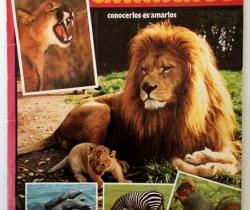 Álbum de cromos Al lado de los animales – Conocerlos es amarlos – Tele Indiscreta – 1985 – Incompleto – Publicaciones Heres