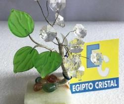 Figura árboles del Cairo de Egipto Cristal