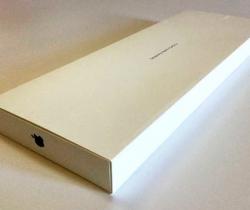 Caja original Apple VACÍA para teclado y ratón