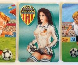 Lote 3 calendarios de bolsillo del Valencia CF – 1997 – 1998 – 1999