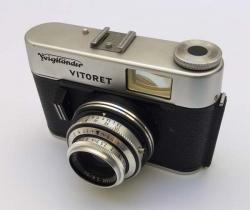 Cámara de fotos años 60 Voigtländer Vitoret con funda