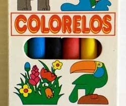 Caja de 6 ceras de colores Colorelos – Flamagas