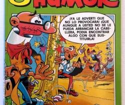 Nuevas Galerías del Humor N 6 – 1987 – Ediciones B – Mortadelo y Filemón – Billetes Mortadelo