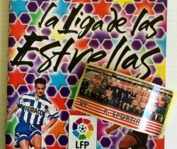 Álbum Chicle Liga 97/98 La Liga de las Estrellas + 1 Cromos