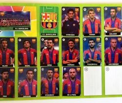Álbum Chicle Liga de las Estrellas 96-97 F.C. Barcelona
