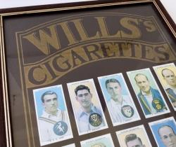 Colección 25 cromos de jugadores de Cricket – PLAYER'S CRICKETER CIGARETTES WILLS´S – W.D. & H.O. WILLS – 1938