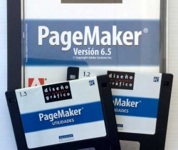 CD 1 diseño gráfico por ordenador – Adobe PageMaker Versión 6.5 – Salvat Multimedia