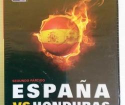 Lote 2 DVD España VS Suiza y España VS Honduras DVD 1 y 2 Sudáfrica 2010 Marca El Mundo