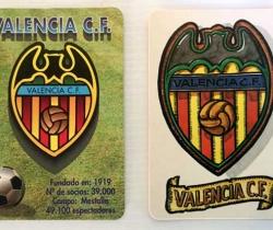 Lote 2 calendarios Valencia CF 1995 – 1998